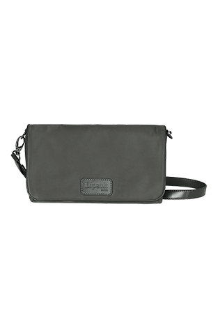 Lipault Lady Plume Clutch bag M Anthracite Grey