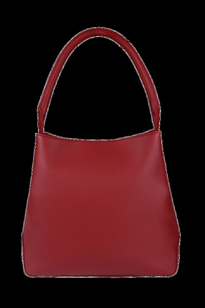 Plume Elegance Hobo bag Ruby   3