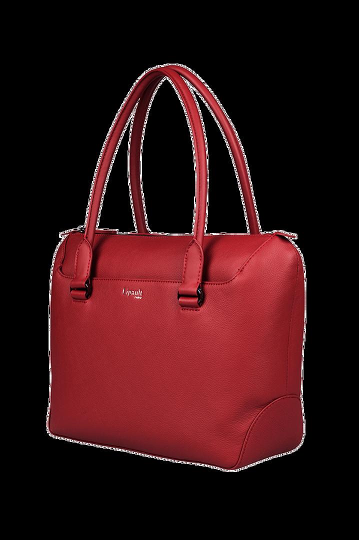 Plume Elegance Shopping Bag Ruby | 4