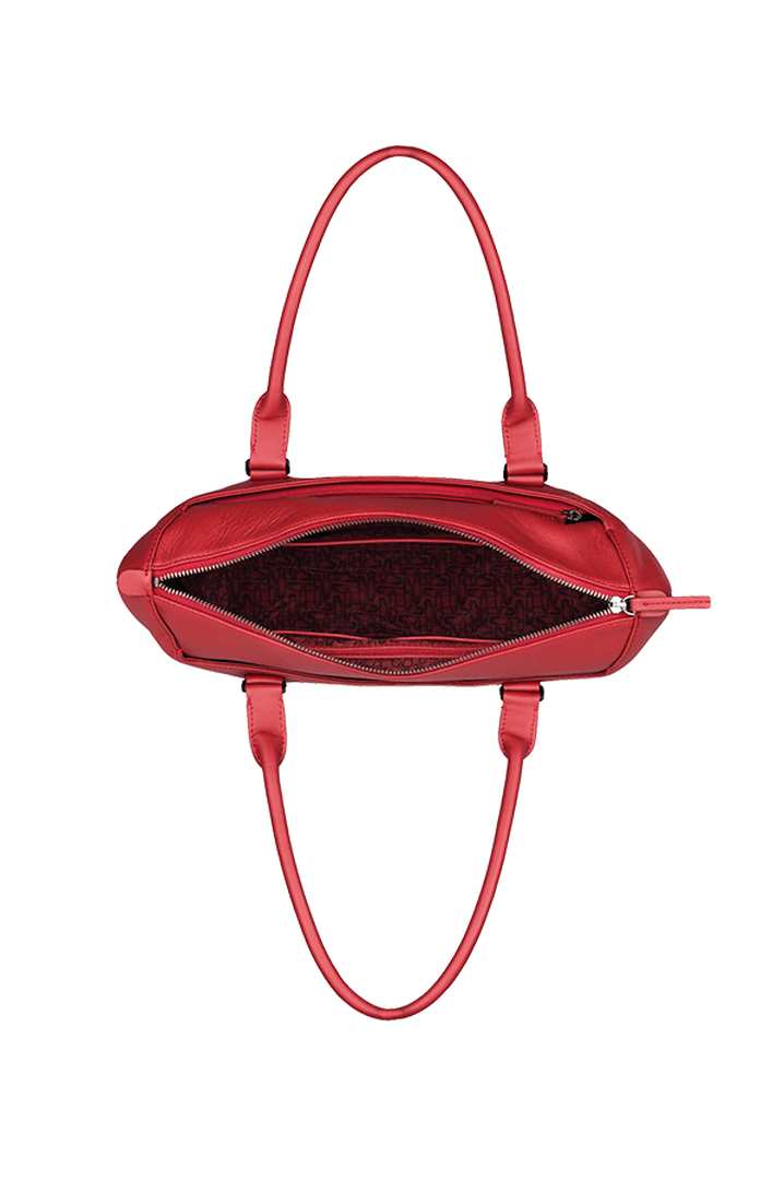Plume Elegance Shopping Bag Ruby | 2