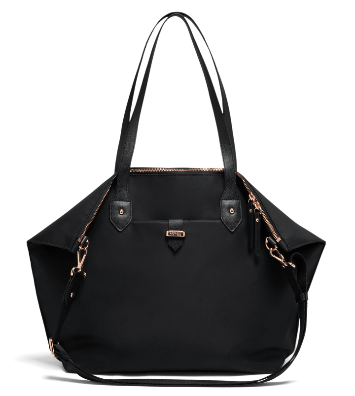 Plume Avenue Shopping Bag  Jet Black | 1