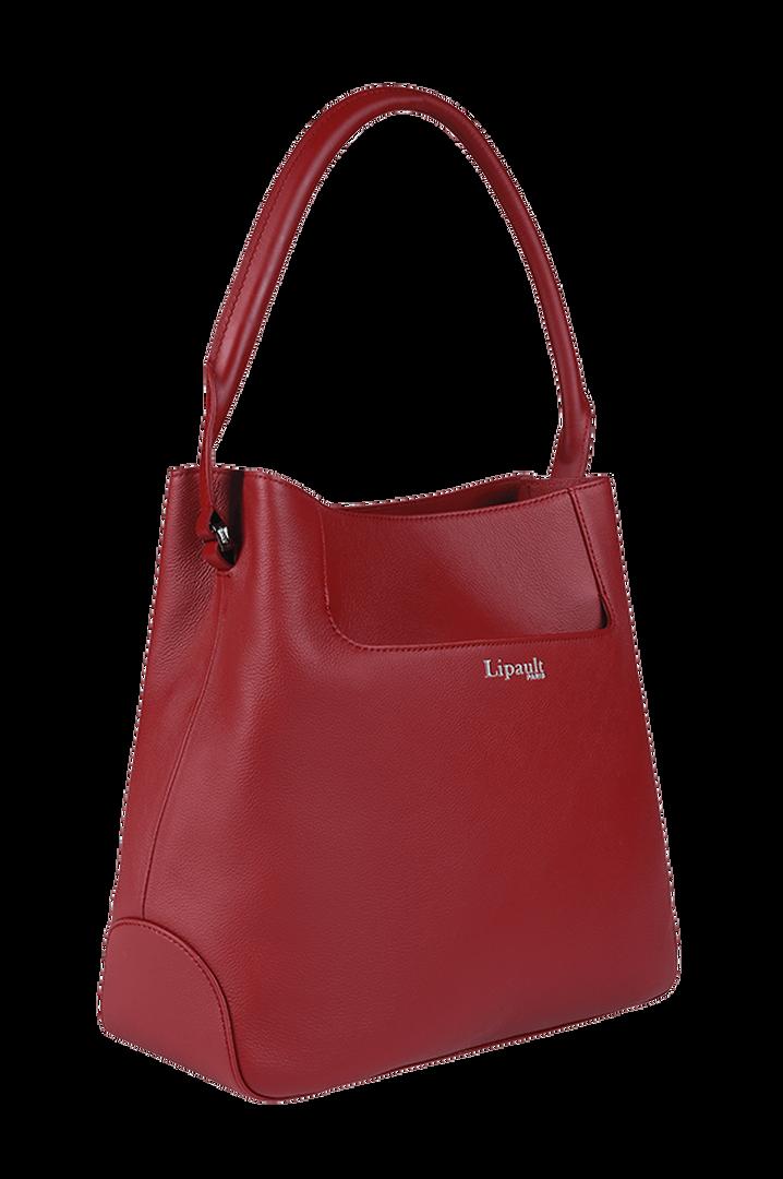 Plume Elegance Hobo bag Ruby   4