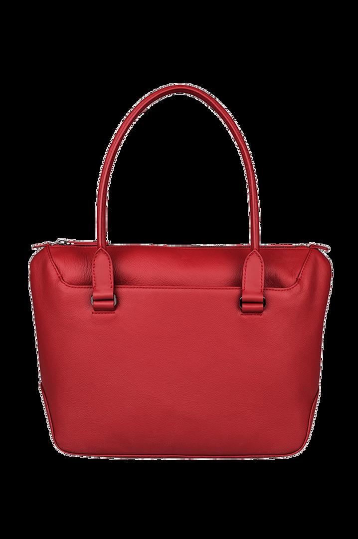 Plume Elegance Shopping Bag Ruby | 3