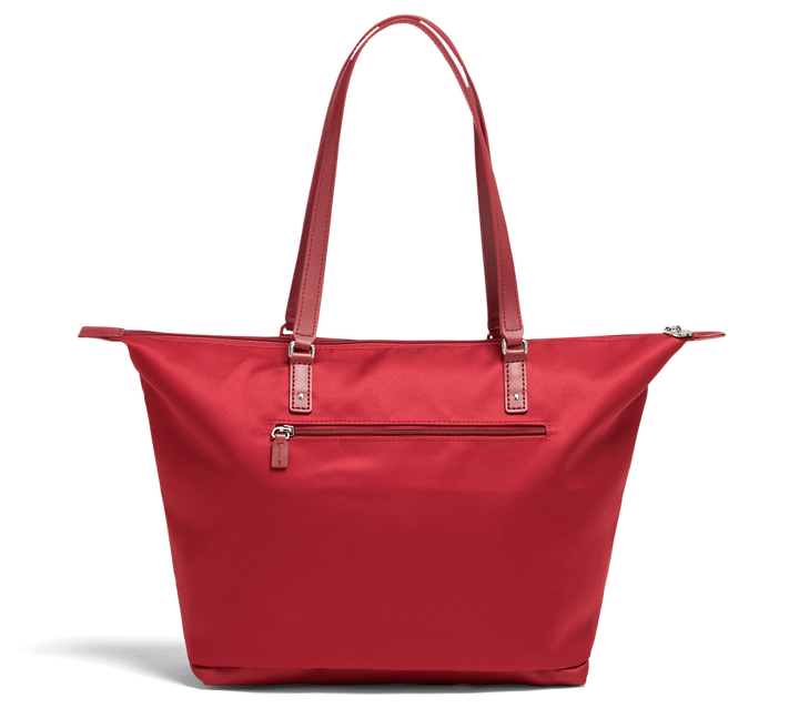 Izak Zenou Collab Shopping Bag M Pose/Garnet Red | 2