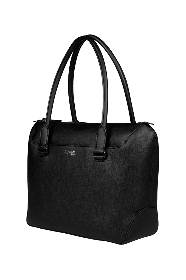 Plume Elegance Shopping Bag Black | 4