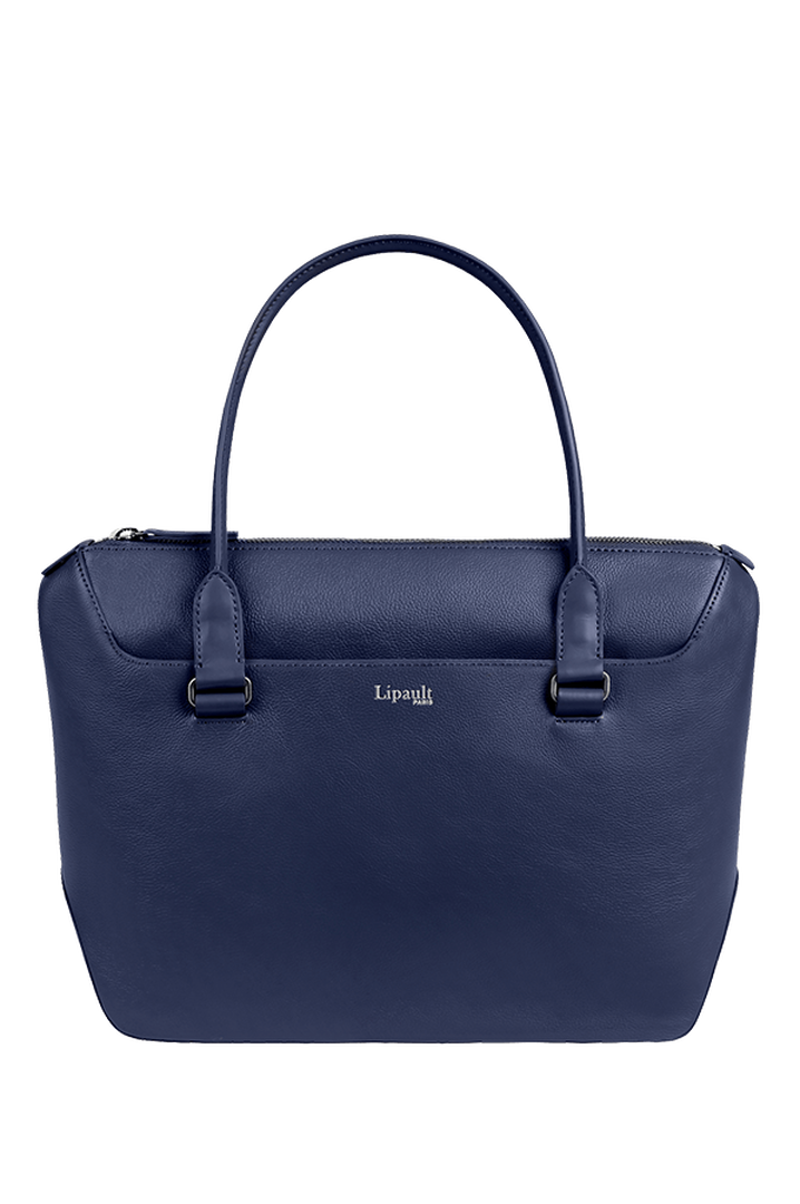 Plume Elegance Shopping Bag Navy | 1