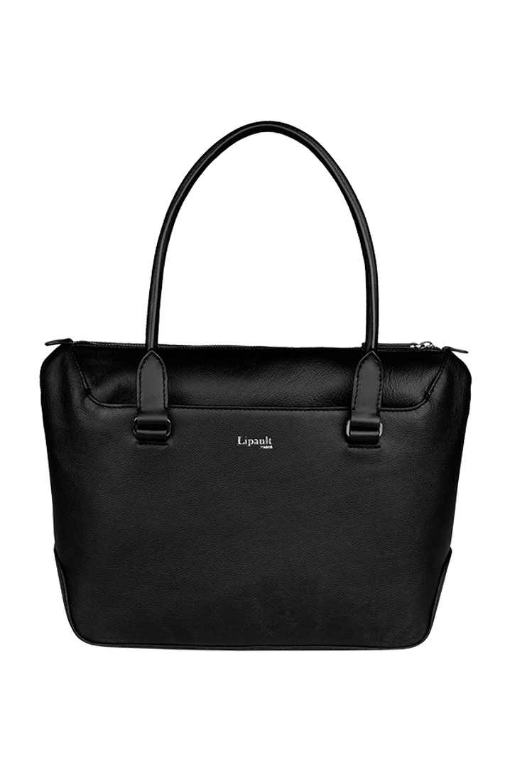 Plume Elegance Shopping Bag Black | 1
