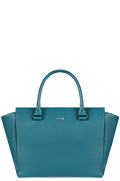 Plume Elegance Satchel Bag Duck Blue