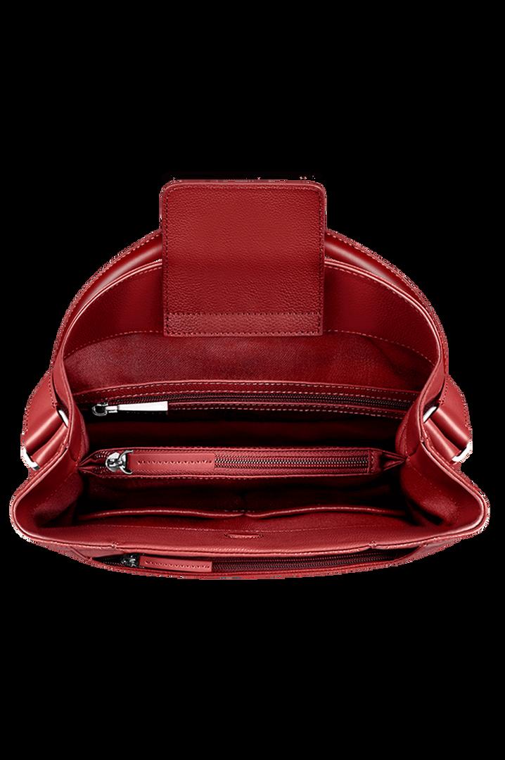 Plume Elegance Hobo bag Ruby   2