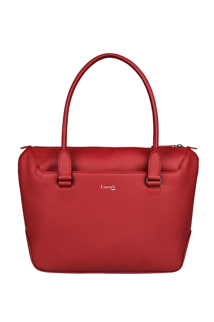 Plume Elegance Shopping Bag Ruby | 1