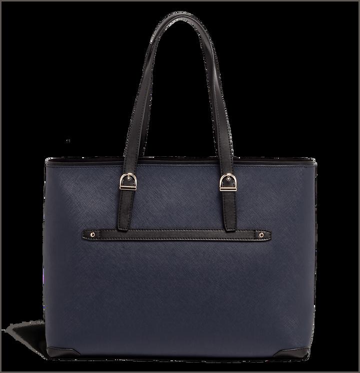 Variation Shopping Bag Navy/Black   3
