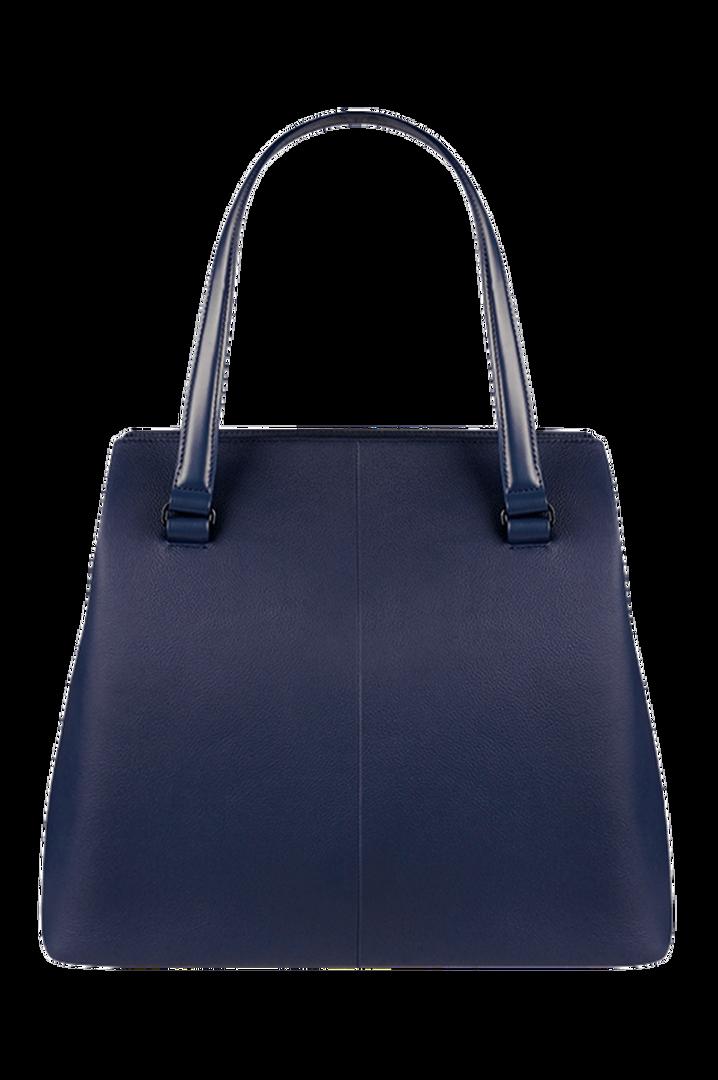Plume Elegance Shopping Bag L Navy | 2