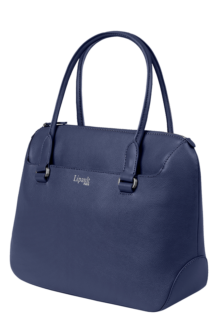 Plume Elegance Shopping Bag Navy | 3