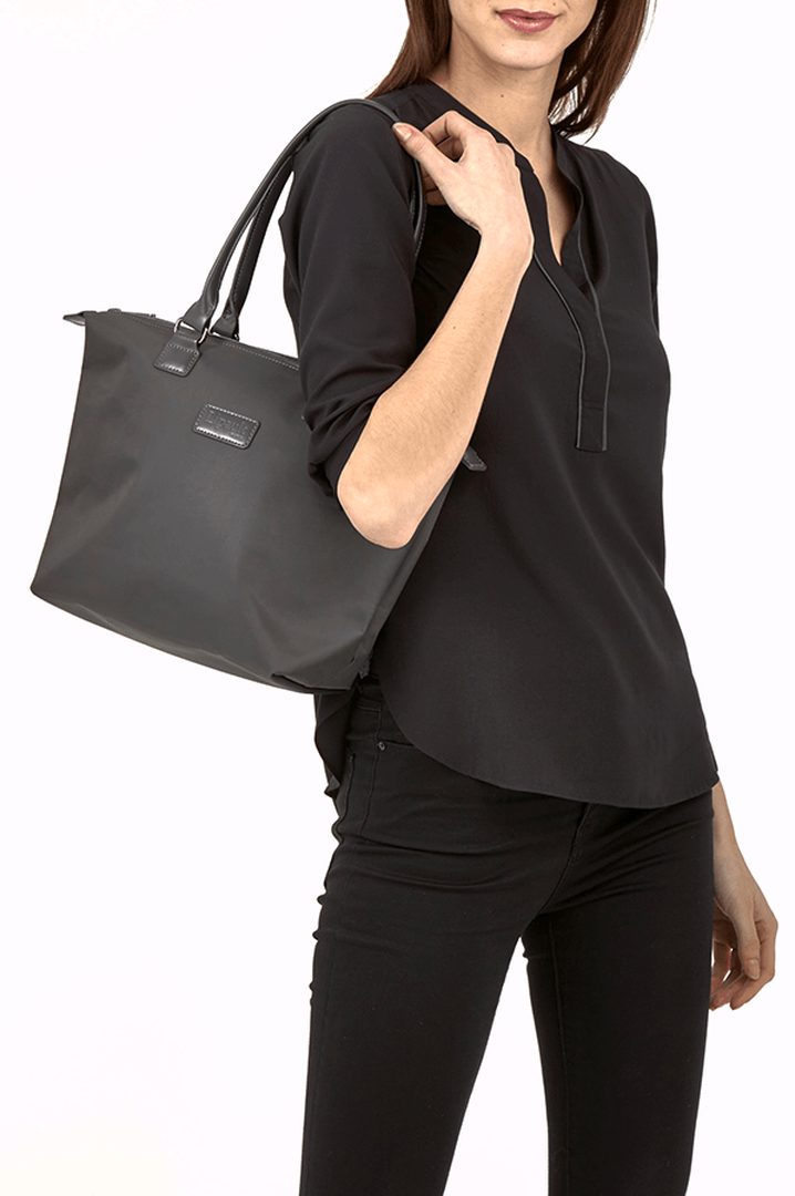 Lady Plume Shopping Bag S Anthracite Grey | 3