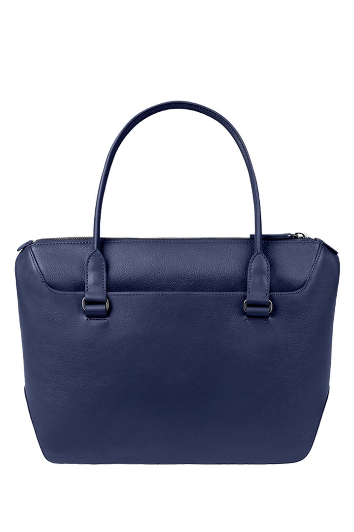 Plume Elegance Shopping Bag Navy | 2