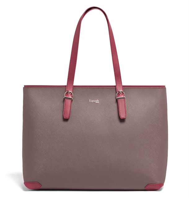 Variation Shopping Bag Grey/Raspberry