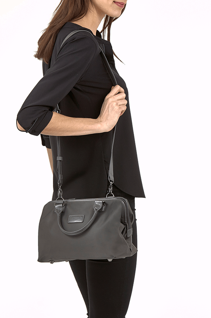 Lady Plume Bowling Bag S Anthracite Grey | 4