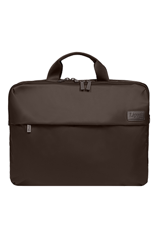 Lipault Plume Business Laptop Bag 17.3inch Chocolate