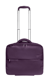 Lipault Plume Business Pilot Case 2 Wheels 15inch Purple fl