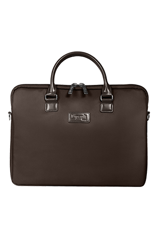 Lipault Lady Plume Laptop Bag 15' Chocolate